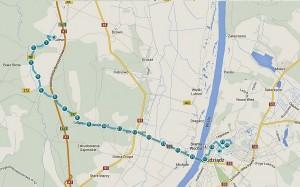 trasa II półmaraton